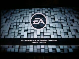 Illustration for article titled EA Gamescom 2009 Presser Liveblog