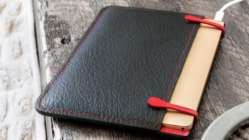 Illustration for article titled Protect Your Apple Gear In Style With 20% Off a Hand Stitched Leather Sleeve [Exclusive]