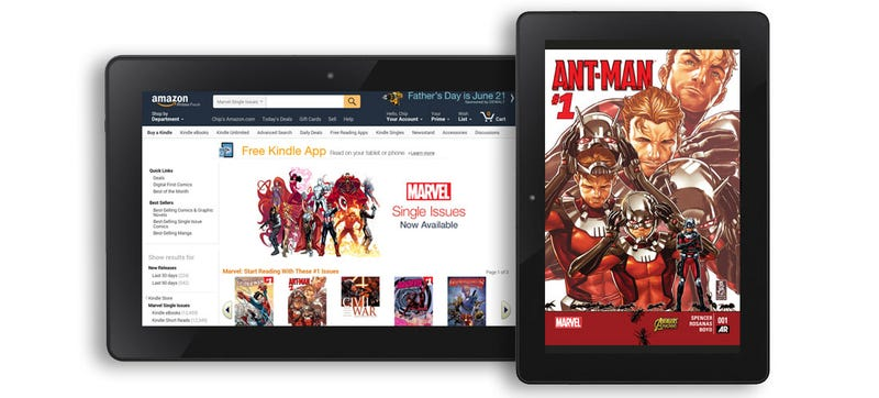 Illustration for article titled There Are Now Over 12,000 Marvel Comics on the Kindle Store