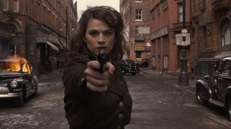 Illustration for article titled Marvel announces two-hour Agent Carter premiere