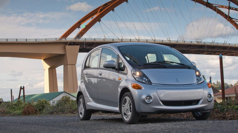 Illustration for article titled Mitsubishi Only Sells 12 i-MiEV Electric Cars, Drops Price $6,000