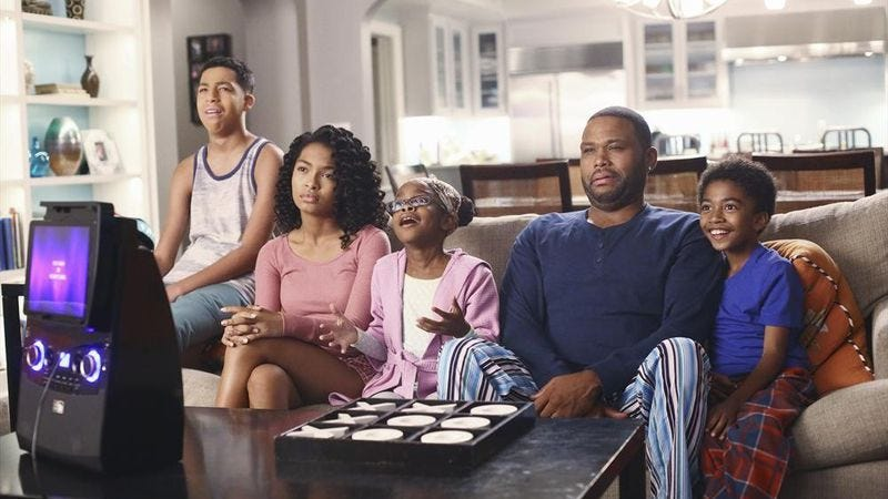 """Illustration for article titled Black-ish: """"Colored Commentary"""""""