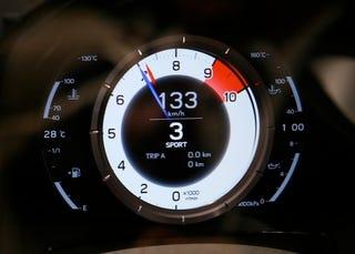 Illustration for article titled Lexus LFA All-Digital Tach, Speedo: First Look