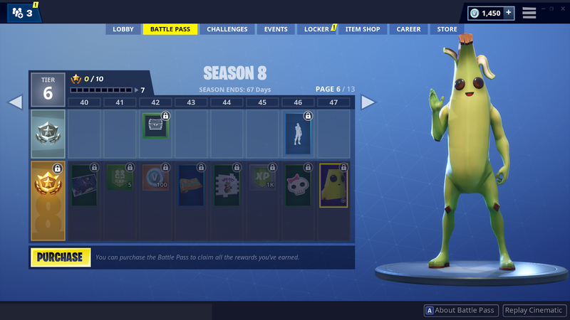 Fortnite Season 8 Banana Skin Gif Fortnite Free Ps4 Skin
