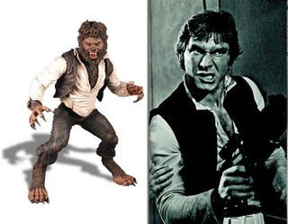Illustration for article titled Benicio Del Toro Channels Han Solo For Wolf Man