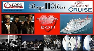 Illustration for article titled Set Sail On The Boyz II Men Love Cruise! (You Know You Want To)