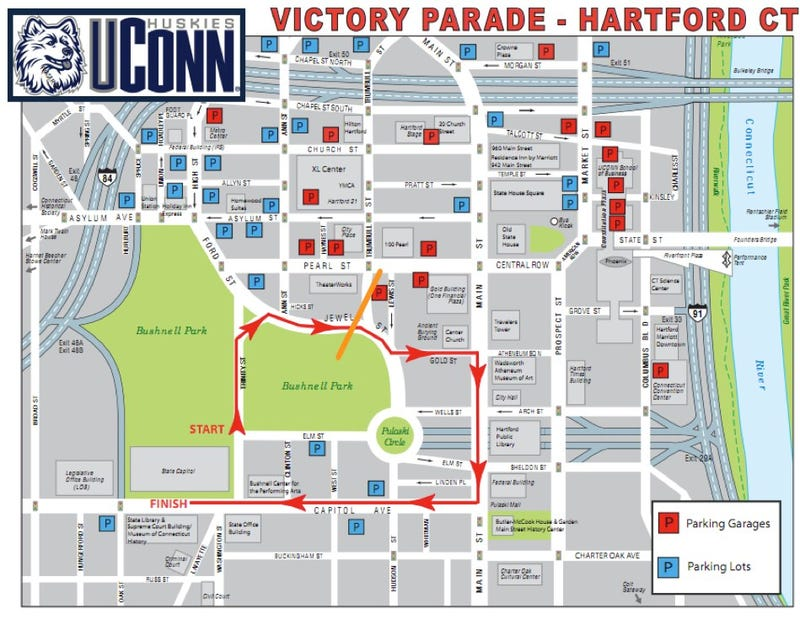 Illustration for article titled Either Somebody Comes Up With $25K By Friday Or UConn's Championship Parade Is Off