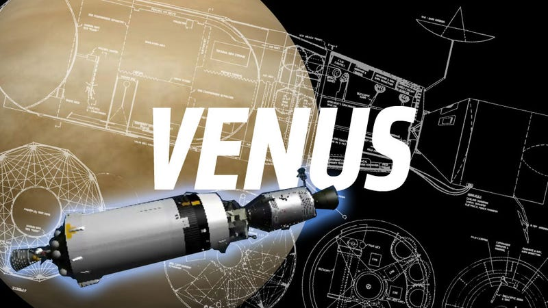 Illustration for article titled NASA's Planned Venus Mission Would Have Put Astronauts In A Fuel Tank