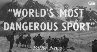 Illustration for article titled Was This Really The World's Most Dangerous Sport?