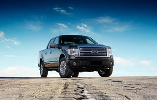 Illustration for article titled 2009 Ford F-150 Gets Top Tow Rating Of 11,300 Pounds