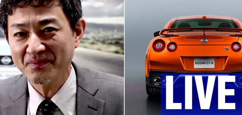 Illustration for article titled Ask Nissan's Chief GT-R Specialist Hiroshi Tamura Anything You Want Right Now