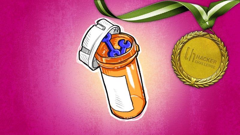 Illustration for article titled Hacker Challenge: Hack Something Using Prescription Pill Bottles