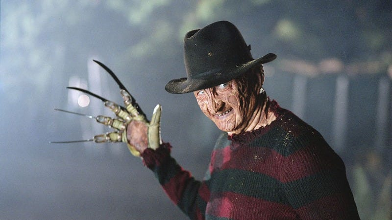 Freddy Krueger.
