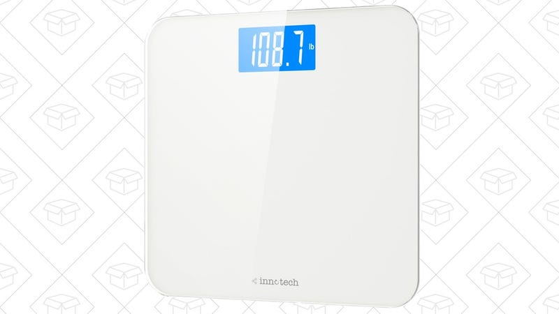 Innotech Digital Bathroom Scale  | $15 | Amazon | Use code DEAL1538
