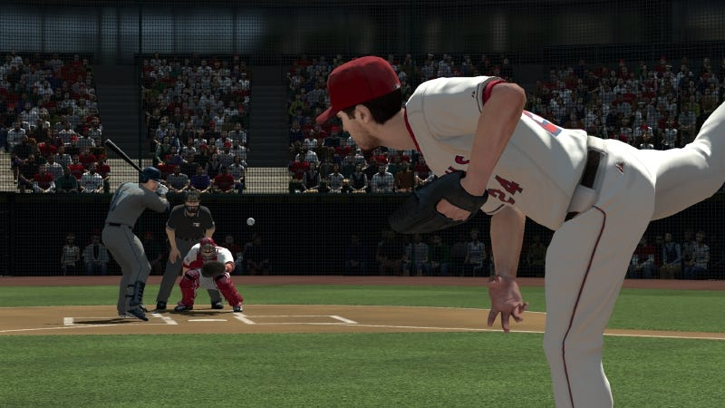 Illustration for article titled MLB 2K11's New Broadcast View Features Kotaku's Camera Work