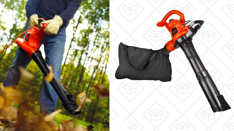 BLACK+DECKER BV6000 High Performance Blower/Vac/Mulcher | $68 | Amazon