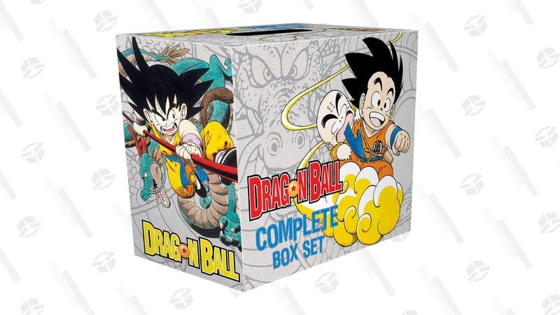Dragon Ball Complete Manga Box Set: Vols. 1-16   $81   Amazon