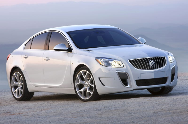 Illustration for article titled Buick Regal GS Show Car: AWD, 255HP And Still A Four-Banger