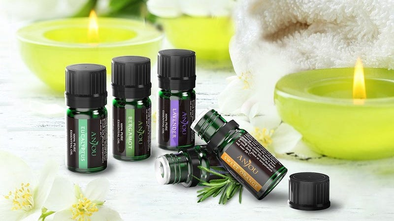 12-pack of Essential Oils, $13 with code KINJASA5