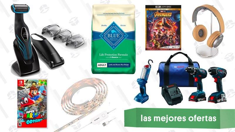 Illustration for article titled Las mejores ofertas de este martes: Juegos para la Switch, maquinilla Norelco, tiras de luces y más