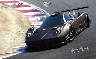 Illustration for article titled Pagani Reveals New Zonda R Renderings