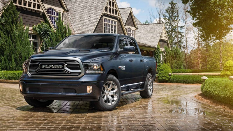 Illustration for article titled Ram Trucks Stolen In A Huge Michigan Car Heist Are Slowly Being Found