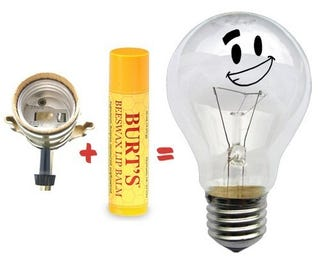 Illustration for article titled Use Lip Balm to Fix a Sticky Light Socket