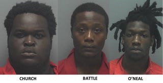 Derrick Church, Tajze Battle and Demetrius O'Neal have been identified as persons of interest in the Club Blu shooting in Fort Myers, Fla.Twitter