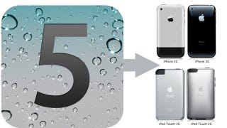 Illustration for article titled Whited00r Jailbreaks and Stuffs iOS 5 Onto Older Devices