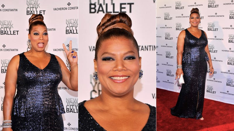 Illustration for article titled Queen Latifah Is a Total Bunhead