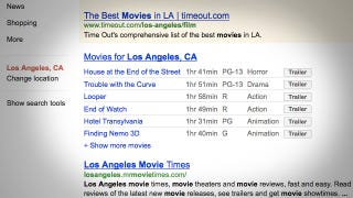 Illustration for article titled Google Adds Movie Trailers to Its Search Results