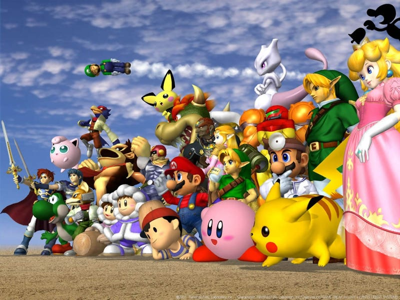 Illustration for article titled How Rankings For Super Smash Bros Characters Have Changed Over The Years