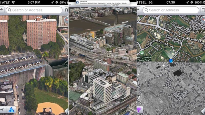 Illustration for article titled Apple's New 3D Maps Are an Apocalyptic Horror Show