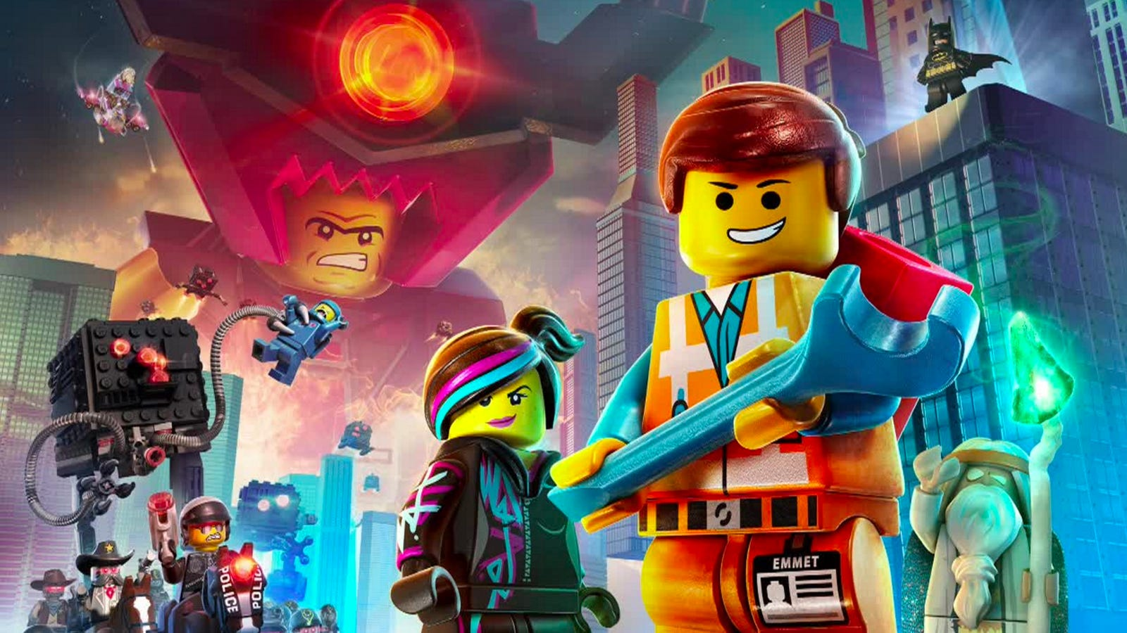 Pictures From The Lego Movie