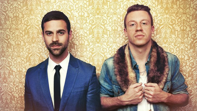 """Illustration for article titled Macklemore & Lewis' """"Same Love"""" is more than a pro-gay marriage anthem"""