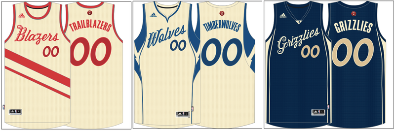 2974cf7592c Illustration for article titled The NBA  39 s Christmas Uniforms Are  Actually Great This