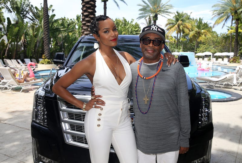 LeToya Luckett and Spike Lee celebrate the kickoff to the 2017 American Black Film Festival at a luncheon  in South Beach, Miami (Soul Brother)