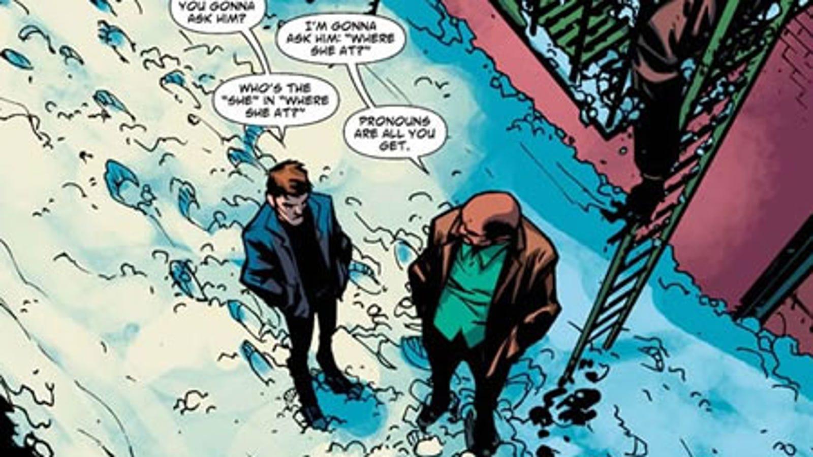 Pushing Daisies Comic Book