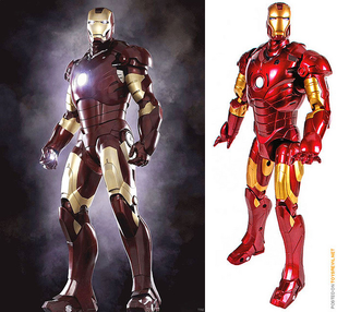 Illustration for article titled Iron Man Action Figure Would Look Great On Our Iron Desks