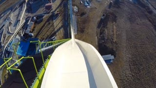 Illustration for article titled World's Tallest Waterslide Opens For Test Rides—Immediately Shuts Down
