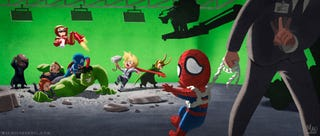 Illustration for article titled Poor Spider-Man Just Wants To Be In Movies With The Avengers