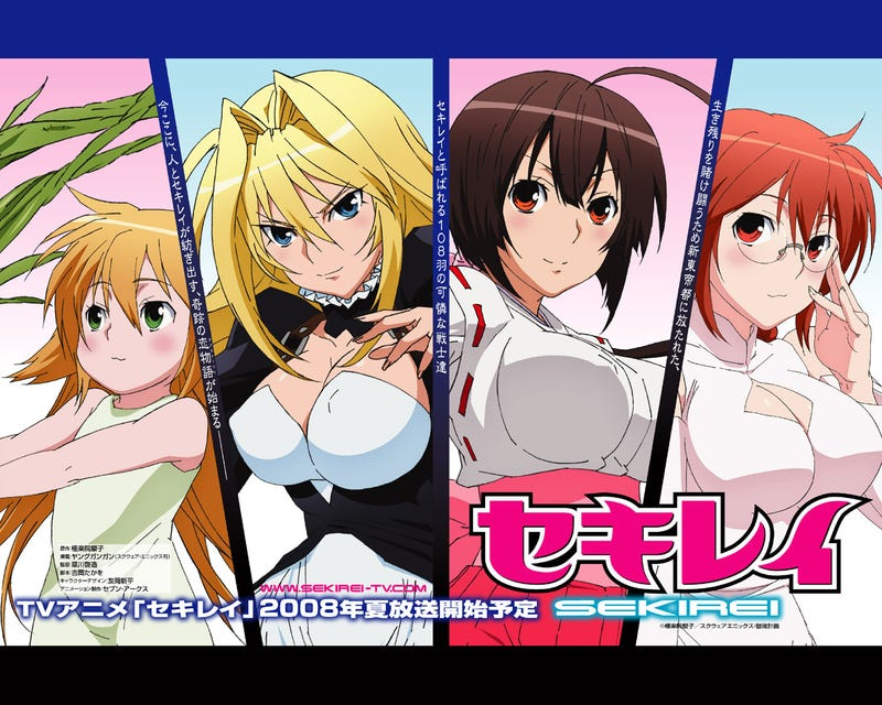 Illustration for article titled The Sekirei Manga will end in its 18 Volume
