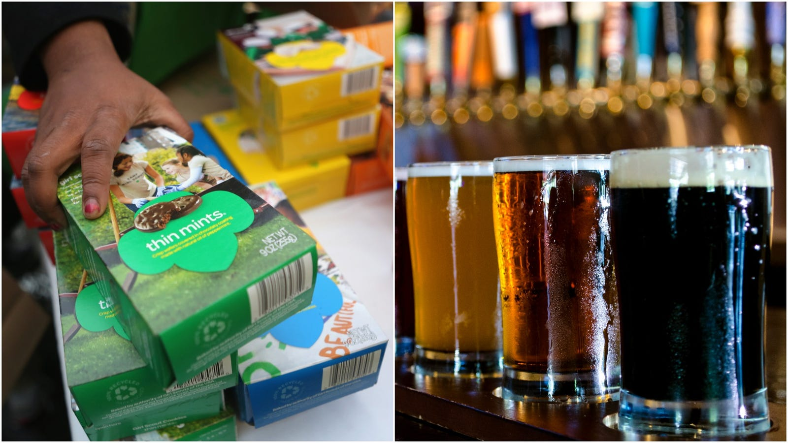 Girl Scout Cookie And Beer Festival: We want to go to there