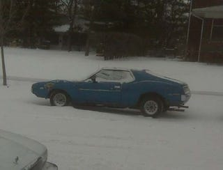 Illustration for article titled Minneapolis '73 AMC Javelin SST Was Born In Wisconsin, Doesn't Worry About Snow