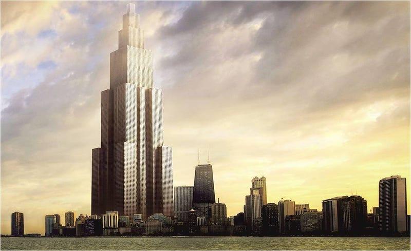 con ustedes sky city el que est llamado a ser el prximo edificio ms alto del mundo medir metros de alto tendr pisos y tras un eterno