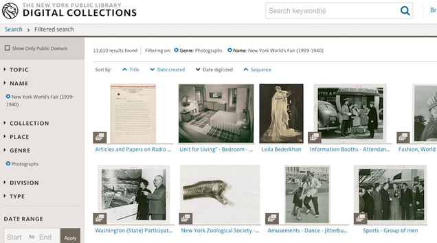 Access Tons of Books, Photos, and Videos in the New York Public Library s Digital Database