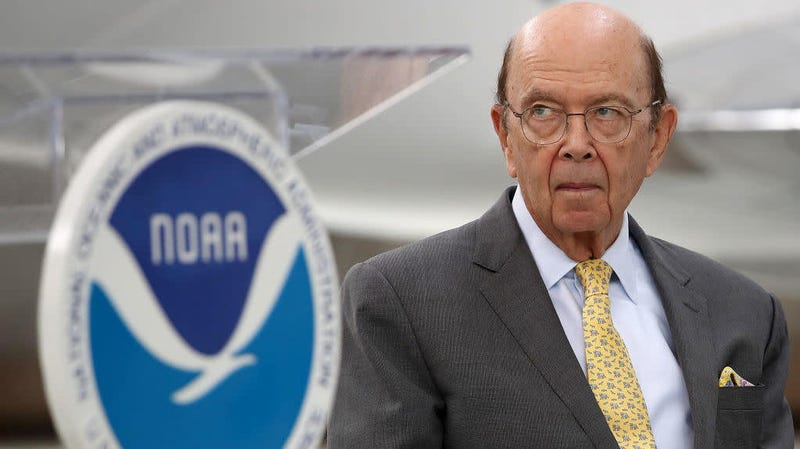 U.S. Commerce Secretary and census overseer Wilbur Ross