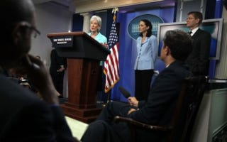 Secretary of Health and Human Services Kathleen Sebelius (Getty Images)