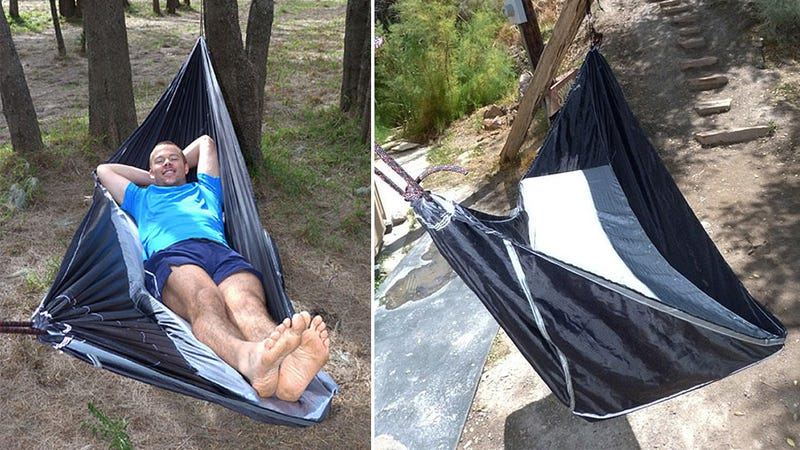 Illustration for article titled Can This Off-Center Hammock Really Be As Comfy As a Bed?