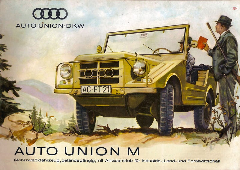 Image: Auto Union via Oldcarbrochures